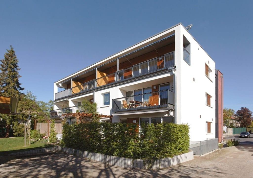 """Ein """"Buntes Haus"""" für Jung und Alt in  Bad Salzuflen - Bildquelle: Schulze_ZimmerMeisterHaus"""