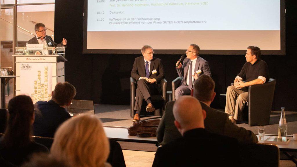Podiumsdiskussionen zwischen Publikum und Referenten sorgten für einen angeregten Fachaustausch.